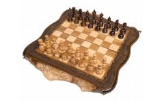 Шахматы + Нарды резные Арарат 50 Ohanyan