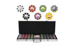 Набор для покера Royal Flush на 500 фишек