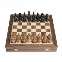 Шахматы Сенеж Woodgame орех
