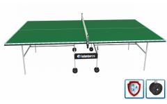 Всепогодный теннисный стол (усиленная модель) VIP+ (зеленый)