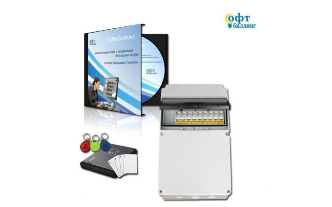 Система контроля игрового времени до 8 столов МедиумСмарт - 8