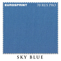 Сукно Eurosprint 70 Rus Pro 198см Sky Blue