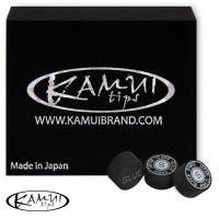 Наклейка для кия Kamui Black ø12,5мм Soft 1шт.