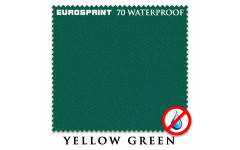 Сукно Eurosprint 70 Waterproof 198см Yellow Green