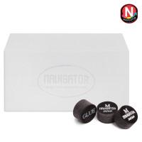 Наклейка для кия Navigator Black Snooker ø11мм Medium 1шт.