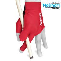 Перчатка Molinari красная левая безразмерная