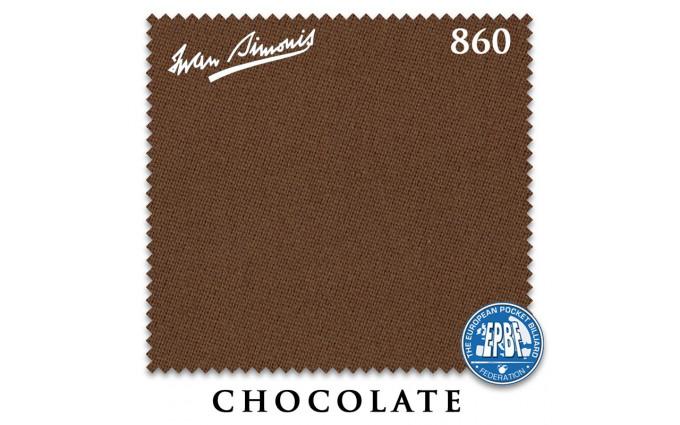 Сукно Iwan Simonis 860 198см Chocolate