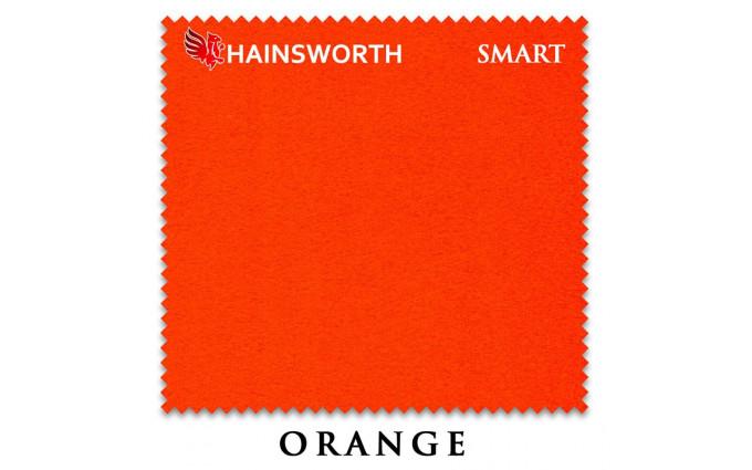 Сукно Hainsworth Smart Snooker 195см Orange