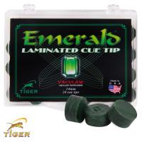 Наклейка для кия Tiger Emerald ø13мм Medium/Hard 1шт.