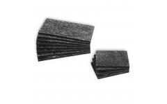 Пластины для бортов резина H4мм 12шт.