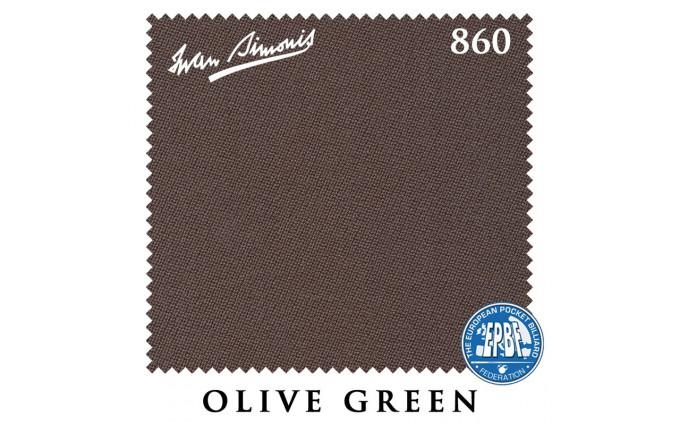 Сукно Iwan Simonis 860 198см Olive Green