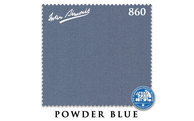 Сукно Iwan Simonis 860 198см Powder Blue