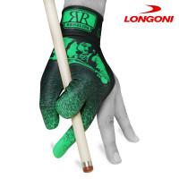 Перчатка Renzline Billiard Player Velcro черная/зеленая