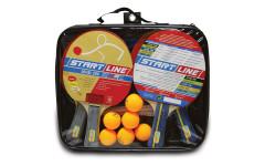 Набор теннисный ракетки Level 200 4шт, мячи Club Select 6шт, сетка с креплением