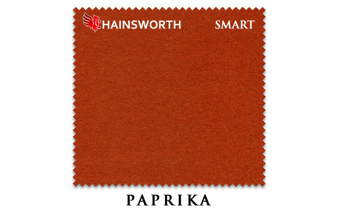 Сукно Hainsworth Smart Snooker 195см Paprika