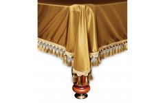 Покрывало Венеция 9фт шёлк темное золото
