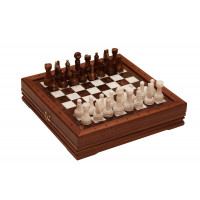 Шахматы средние каменные 34х34 см (2,75