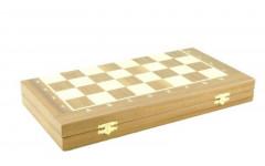 Шахматный ларец складной махагон, 45мм