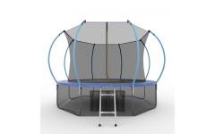 Батут EVO JUMP Internal 12ft (Blue) + Lower net