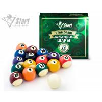 Шары Start Billiards ПУЛ 57мм 797405