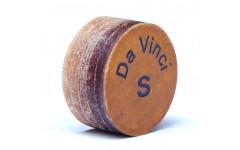 Профессиональная наклейка на кий из  свиной кожи, 5 слоев, метод ламинации, Longoni Renzline Da Vinci 13 мм, S